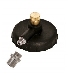Adapter and racord 1/8 for airbrush spray propellant
