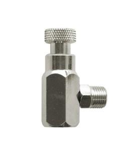 h) Airblast regulator adaptor para aerografo