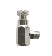 Adaptador regulador para spray propelente para aerografo