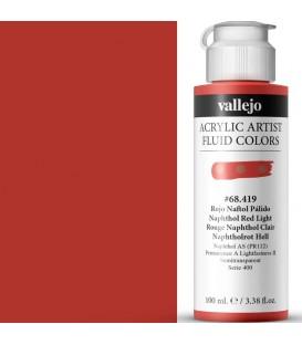 Acrilic Artist Fluid 100 ml Rojo Naftol Pálido
