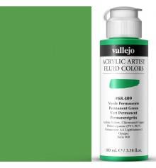 Acrilic Artist Fluid 100 ml Verde Permanente