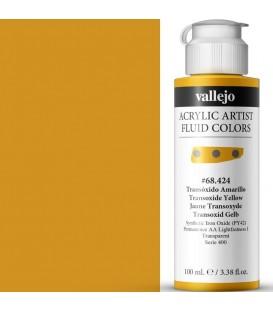Acrilic Artist Fluid 100 ml Transóxido Amarillo