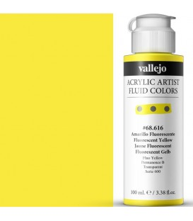 Acrilic Artist Fluid 100 ml Amarillo Fluorescente