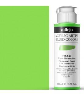 Acrilic Artist Fluid 100 ml Verde Fluorescente