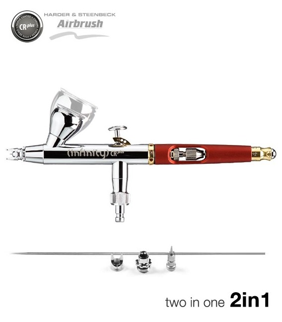 Airbrush Infinity CRplus Two in One