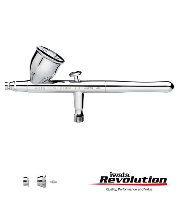 IWATA REVOLUTION HP-CR 05 airbrush