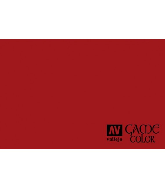 72.010 Bloody Red Game Color 17ml.