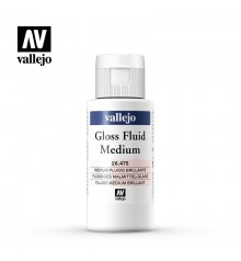 26475 Medium acrílic fluid brillant Vallejo 60 ml.