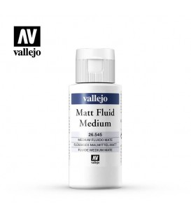 Medium acrilico fluido mate Vallejo 60 ml.