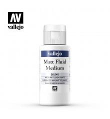 Medium acrilic fluid mat Vallejo 60 ml.