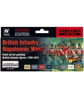 Set Vallejo Model Color 8 u. (17 ml.) British Infantry Napoleonic Wars