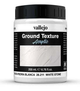 WHITE stone paste
