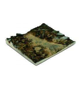 SC002 Base escombros Scenics Diorama Bases 14 x 14