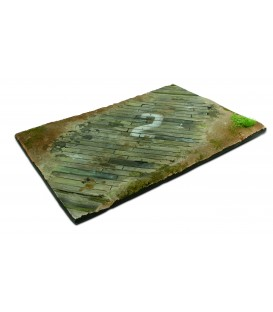 SC102 Wooden airfield surface Scenics Diorama Bases 31 x 21