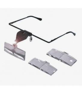 Magnifying Glasses with Led and Several Magnifications 1.5X, 2.5X and 3.5X.