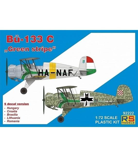 """Bücker 133 C """"Green stripe"""" 92222"""