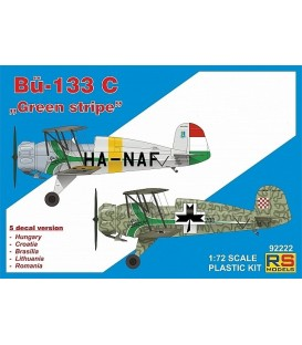 "Bücker 133 C ""Green stripe"" 92222"