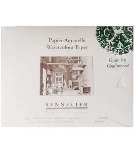 Bloc Paper Aquarel·la Sennelier 20f 300gr Gra Fi 21x14,8