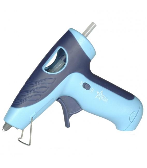 Pistola de pegamento termofusible Star Tec ST 10610