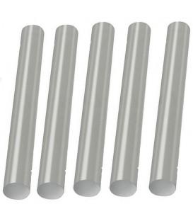 Set 5 stick di Colla Star Tec Trasparente/Bianca 7,5 x 100 mm.