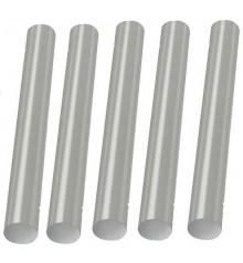 Set 5 Barras de Pegamento Star Tec Transparente/Blanco 7,5 x 100 mm.