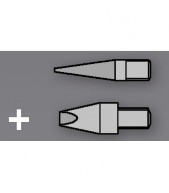 2 Soldering Tip Set for Woodburning Pen ST30 / ST201