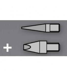2 Soldering Tip Set for Woodburning Pen Star Tec ST30 / ST201