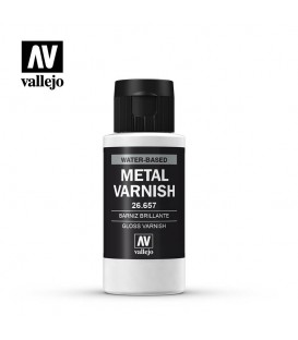 26657 Barniz Metal Brillante Metal Color 60 ml.