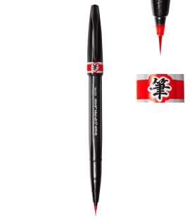 Vermell Retolador Pentel Sign Pen Artist