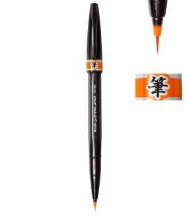Naranja Rotulador Pentel Sign Pen Artist