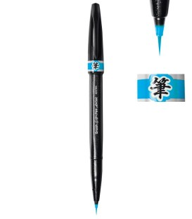 Light blue Pentel Sign Pen Artist Marker Pen