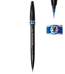 Azul Escuro Marcador Pentel Sign Pen Artist