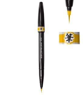 Ocre amarillo Rotulador Pentel Sign Pen Artist