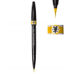 Yellow Ochre Pentel Sign Pen Artist Marker Pen