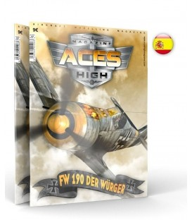 AK2922 Aces High FW 190 Der Wurger - Castellano