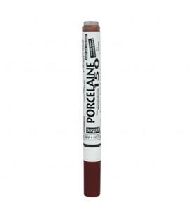 EARTH BROWN Fine tip marker pen 0.7 Pebeo Porcelaine 150