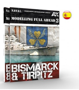 AK250 Modelling Full Ahead 3 Bismarck and Tirpitz - Castellano
