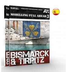 AK250 Modelling Full Ahead 3 Bismarck and Tirpitz - Castellano