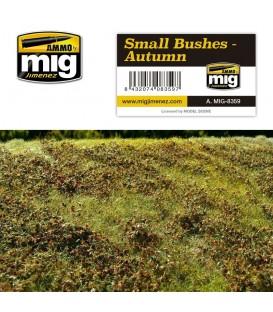 Arbustos pequeños - Otoño AMMO Mig Jimenez.