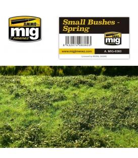 Arbustos pequeños - Primavera AMMO Mig Jimenez.