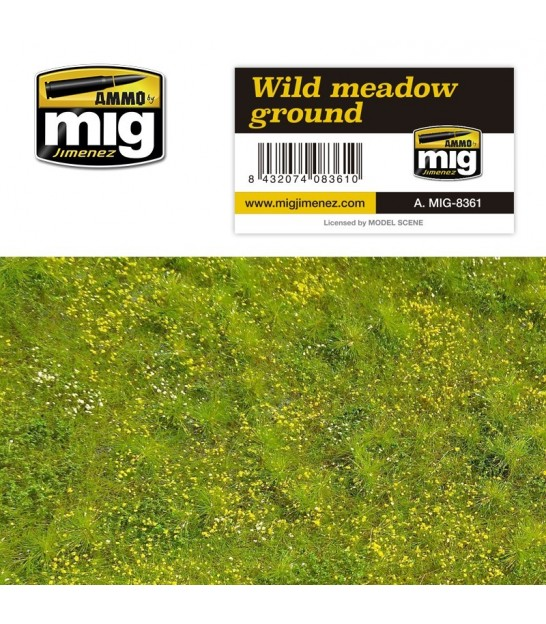 AMMO OF MIG VEGETATION GRASS GROUND TURFS SMALL MIXTURE A.MIG-8356