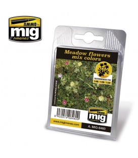 Meadow Flowers mix colors AMMO Mig Jimenez.