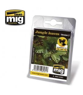 Hojas de jungla Versión 2 AMMO Mig Jimenez.