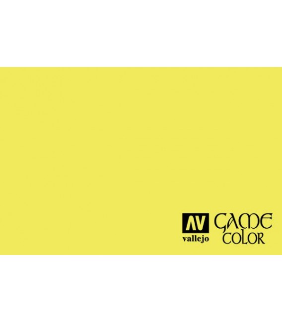 72.103 Fluo Yellow Game Color 17ml.