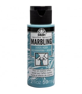 16926 Aqua FolkArt Marbling Paint 59 ml.