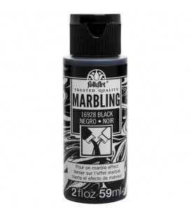 16928 Black FolkArt Marbling Paint 59 ml.