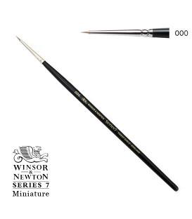 Pinceau Winsor & Newton série 7 Miniature poil Martre Kolinsky 3/0