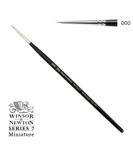Winsor & Newton Series 7 Miniature Kolinsky Sable Brush 3/0