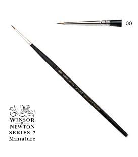 Pennello Winsor & Newton Series 7 Miniature pelo di Martora Kolinsky 2/0