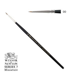 Winsor & Newton Series 7 Miniature Kolinsky Sable Brush 2/0